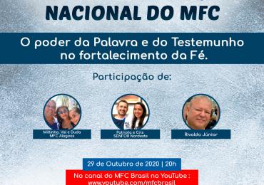 SENFOR: 5ª Live de Formação Nacional do MFC