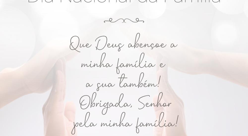 Dia Nacional da Família