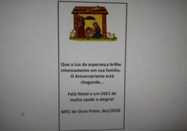 MFC Ouro Preto: Mensagem de Natal