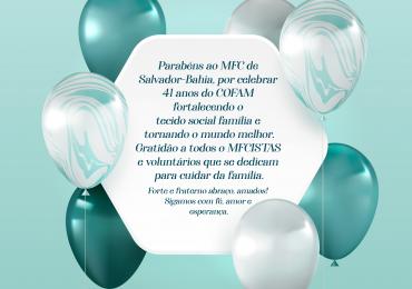 MFC Salvador: Aniversário do COFAM