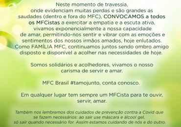 MFC Nacional: Convocação