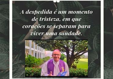 MFC Rondonópolis: Nota de Pesar sobre o falecimento de Dom Juventino Kestering