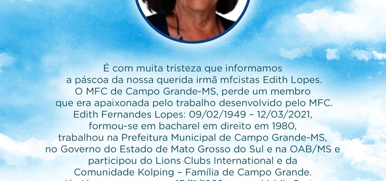 MFC Campo Grande: Luto