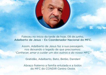 MFC Nacional: Nota de Falecimento