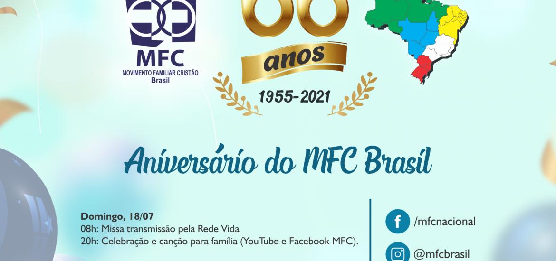 MFC Nacional: Programação dos 66 anos