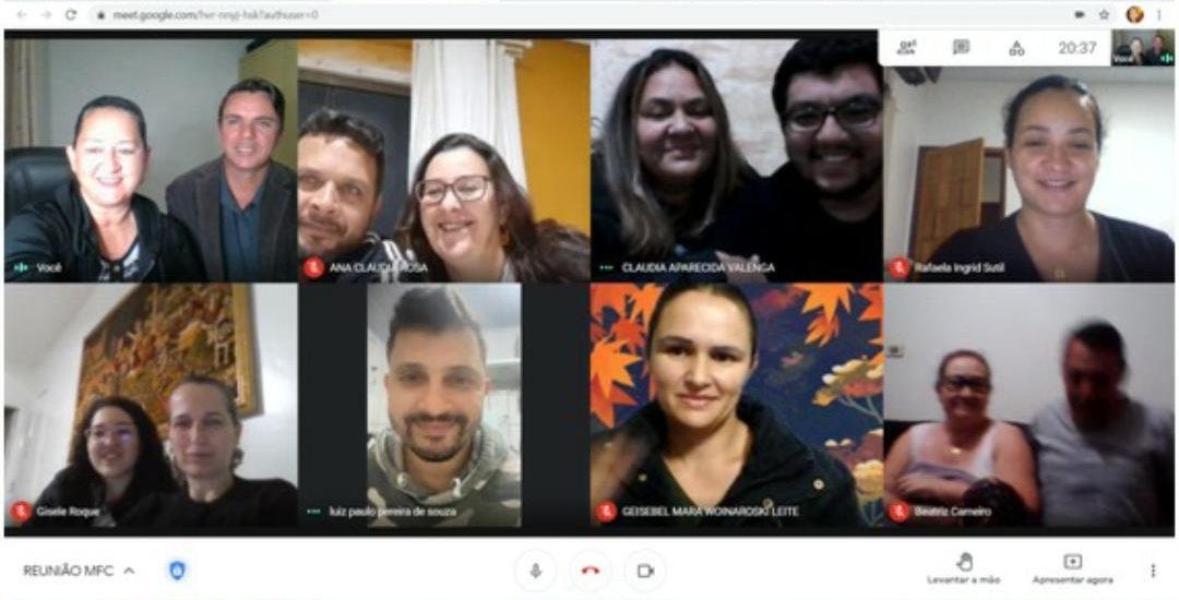 MFC Ortigueira: Reunião com a ECC