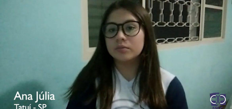 Minuto ENA: Ana Júlia MFC Tatuí-SP