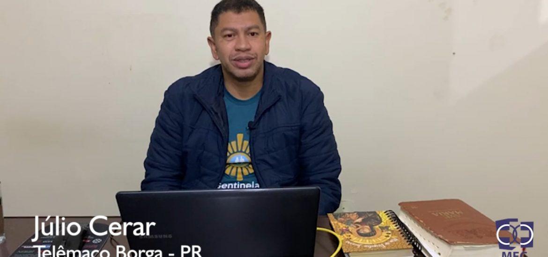 Minuto ENA: Júlio César MFC Telêmaco Borba-PR