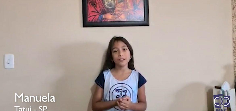 Minuto ENA: Manuela MFC Tatuí-SP