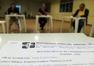 MFC Campo Grande: Reunião Coordenação ECCI