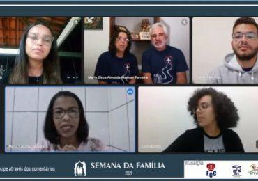 """MFC Conselheiro Lafaiete: Live """"Viver o amor no cotidiano da família"""""""