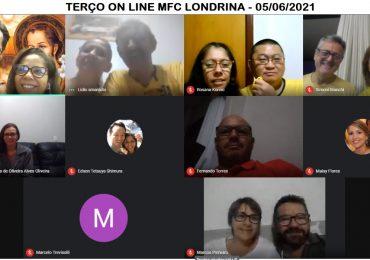 MFC Londrina: Terço Mariano aos Sábados