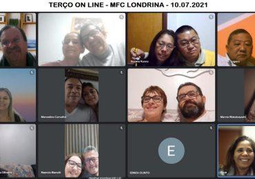 MFC Londrina: Oração do Terço Mariano