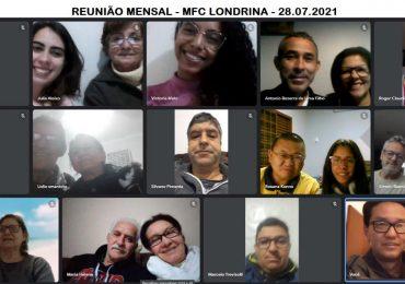 MFC Londrina: Reunião Mensal de Julho