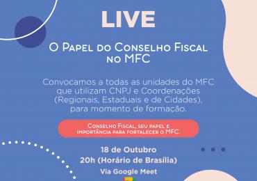 MFC Nacional: Live – O Papel do Conselho Fiscal no MFC