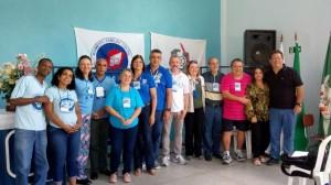 Coordenadores Nacionais, Regional, de Lafaiete e Equipe Estadual do MFC-MG.