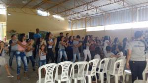 Encontrao2018-juventudeMFC_na_paroquia_de_Sao_Raimundo,_com_sessenta_e_seis_jovens_e_adolescentes